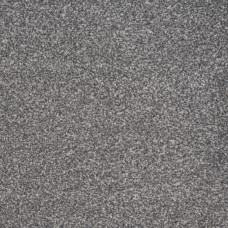 Bella Grey Steel Silver Saxony 3m x 4m Carpet Remnant