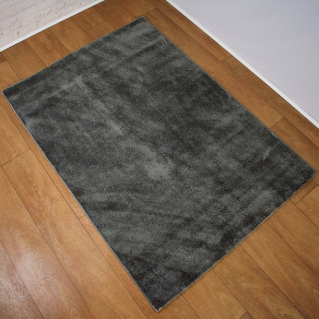 Simple Soft Style Anthracite Rug