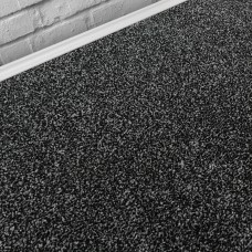 Denver Supreme Black Silver Saxony Carpet